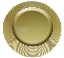 Jogo 4 Sousplat Disco Dourado - Mimo Style - SP13716 -