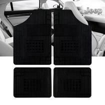Jogo 4 Tapete Automotivo Jeep Renegade - Cheiro Carro Novo - EcoTap