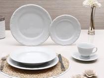 Jogo 42 Peças - Pratos, Xícaras de Chá e Café Pomerode - Porcelana Schmidt