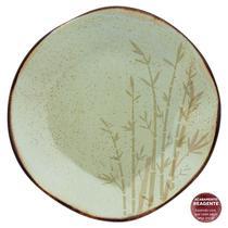 Jogo 6 Pratos Rasos Ryo Bambu Oxford Porcelanas -