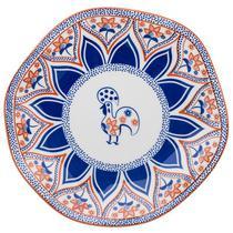 Jogo 6 Pratos Rasos Ryo Barcelos Oxford Porcelanas -