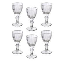 Jogo 6 Taças Para Licor De Cristal Athenas 50ml - Lyor