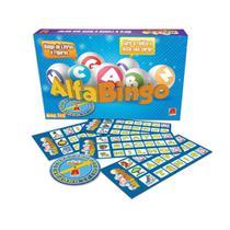 Jogo Alfabingo Bingo De Letras E Figuras- Algazarra -