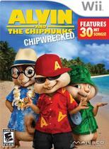 Jogo Alvin And The Chipmunks Chipwrecked Para Nintendo Wii -