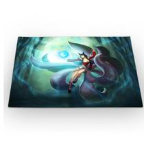 Jogo Americano League of Legends Ahri Raposa de Nove Caudas 46x33cm - 429K
