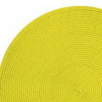 Jogo Americano Redondo Tecido 38,5cm 2 peças Sobre prato yoi -