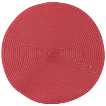 Jogo americano redondo vermelho cada avulso 37,5CM - Hauskraft AMER-002 -