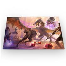 Jogo Americano RPG Dungeons and Dragons 46x33cm - 429K