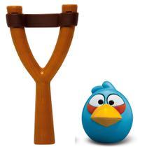 Jogo Angry Birds - Mashems Estilingue - Blue Bird - Série 1 - DTC -