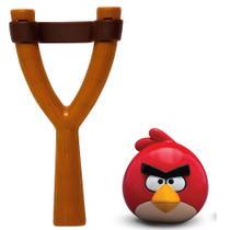 Jogo Angry Birds - Mashems Estilingue - Red Bird - Série 1 - DTC -