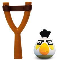 Jogo Angry Birds - Mashems Estilingue - White Bird - Série 1 - DTC -