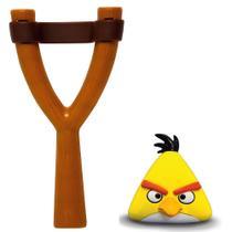 Jogo Angry Birds - Mashems Estilingue - Yellow Bird - Série 1 - DTC -