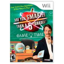 Jogo Are You Smarter than a 5th Grader Game Time - Wii - Thq
