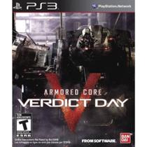 Jogo Armored Core Verdict Day Ps3