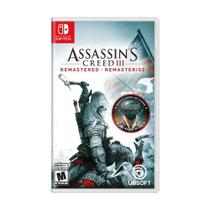 Jogo Assassin's Creed III Remastered - Switch - Ubisoft