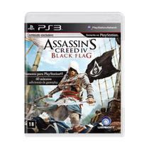 Jogo Assassin's Creed IV: Black Flag - PS3 - Ubisoft