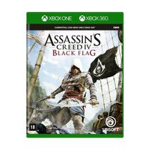 Jogo Assassin's Creed IV: Black Flag - Xbox 360 e Xbox One - Ubisoft