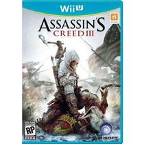 Jogo Assassin's Creed lll - Wii U - Ubisoft