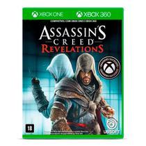 Jogo Assassins Creed - Revelations- Xbox One -Xbox 360 -