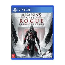 Jogo Assassins Creed Rogue Remasterizado - PS4 - Ubisoft