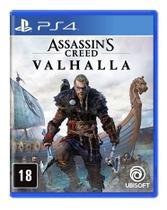 Jogo Assassins Creed Valhalla - PS4 - Ubisoft