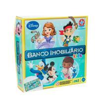 Jogo Banco Imobiliário Kids Disney Jr. - Estrela Brinquedo EST-110 -