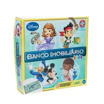 Jogo Banco Imobiliário Kids - Disney Junior - Estrela -