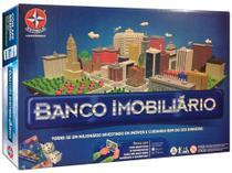 Jogo Banco Imobiliário - Tabuleiro Estrela -