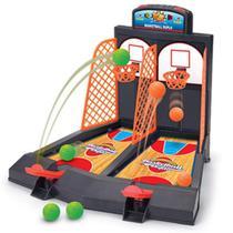 Jogo basquete com placar radical infantil duplo mini cesta bola ao cesto basketball esporte briquedo - Makeda