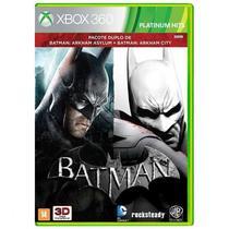 Jogo Batman: Arkham Asylum + Batman: Arkham City - Xbox 360 - Wb games