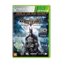 Jogo Batman Arkham Asylum Goty - Xbox 360 - Rocksteady