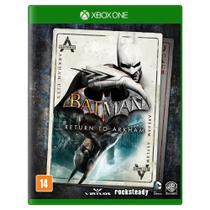 Jogo Batman Return to Arkham - Xbox One - Rocksteady