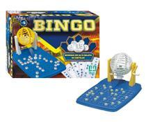Jogo Bingo Com 48 Cartelas Infantil e Adulto Educativo NIG -
