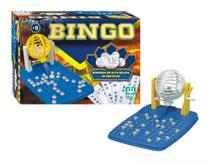 Jogo Bingo com Globo 48 Cartelas 1000 - NIg Brinquedos -