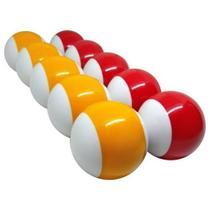 Jogo Bola Faixada Mata X Mata  Bilhar Sinuca 2 Cores Snooker - Tacolandia