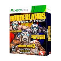 Jogo Borderlands Triple Pack - Xbox 360 - 2k games