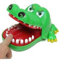 Jogo Brinquedo Criança Crocodilo Dentista Cuidado Com o Dente Dolorido  - Polibrinq -