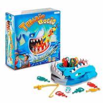 Jogo Brinquedo Criança Tubarão Bocão Resgate As Presas Br753 - Multikids