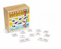 Jogo Brinquedo Educativo Alfabeto Silábico 350 Peças Carlu -