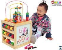 Jogo brinquedo educativo aramado casinha carlu -