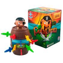 Jogo Brinquedo Pula Pirata Estrela -