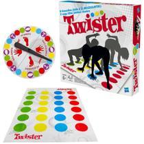 Jogo Brinquedo Twister Original Da Hasbro -