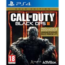 Jogo Call of Duty: Black OPS 3 Gold Edition - PS4 - Activision