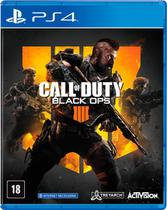 Jogo Call  of Duty Black Ops 4 - PS4 - Playstation