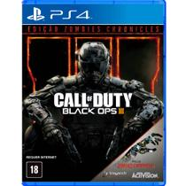 Jogo Call Of Duty Black OPS III + Zombies Chronicles - PS4 - Activision