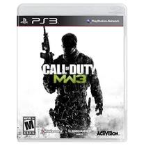 Jogo: Call Of Duty - Modern Warfare 3 - PS3 - Activision