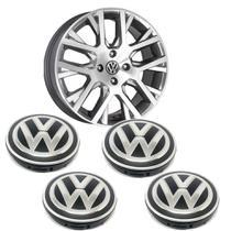 jogo calotinhas tampa miolo de roda Volkswagen saveiro cross - Geral