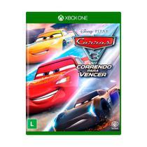 Jogo Carros 3 Correndo Para Vencer Xbox One - Mídia Física Lacrada - Xboxone