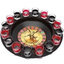 Jogo Cassino Roleta Shot - 16 Copos Bebida Drink Destilado - Reparocell