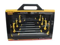Jogo chaves allen em t 8p com maleta crv - black jack -